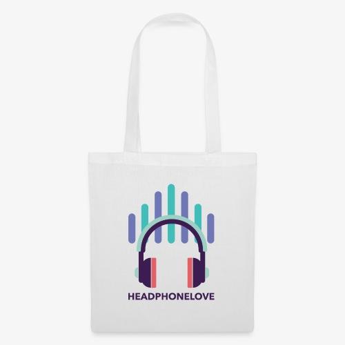 headphonelove - Stoffbeutel