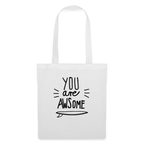 YouAreAwsome Surfboard - Tote Bag