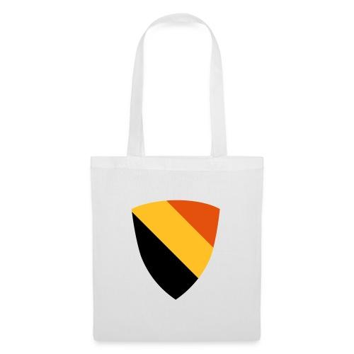 Belgium shield / Belgisch schild - driekleur - Sac en tissu