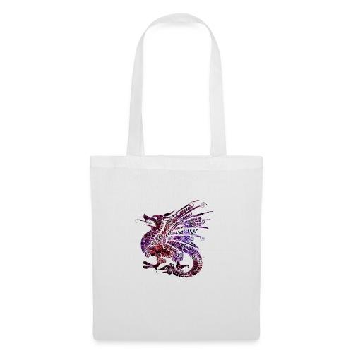 Dragon couleur design - Tote Bag