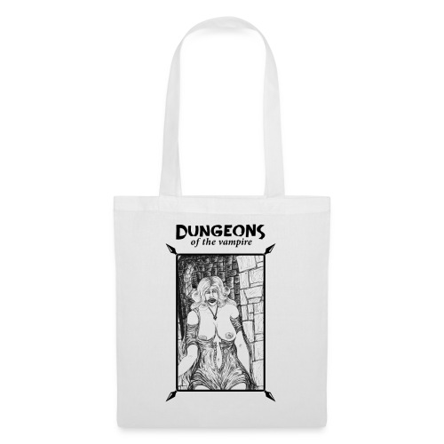 catacombs vampire black version - Tote Bag