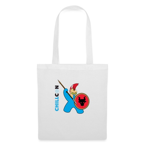 Greek Mascot - Colour - Tote Bag