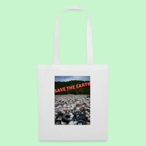 save the earth - Tote Bag