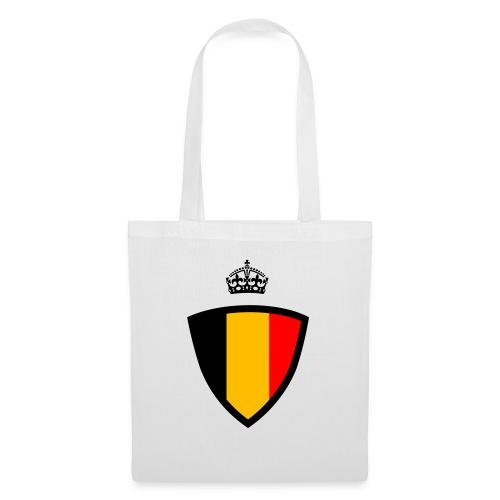Koninkrijk belgië schild - Sac en tissu