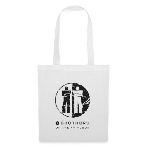 2 Brothers Black text - Tote Bag