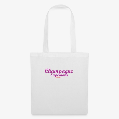 Champagne Supernova violet2 - Stoffbeutel