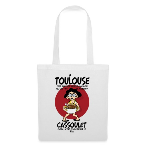 cassoulet marmite png - Tote Bag