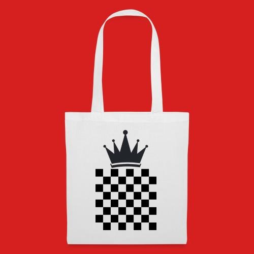 Schach König - Stoffbeutel