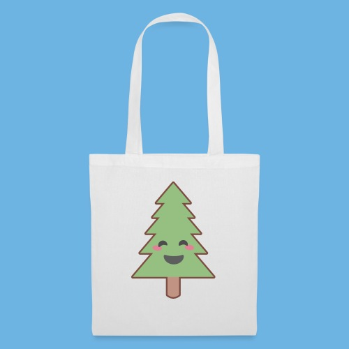 Kawaii Christmas Tree - Tote Bag