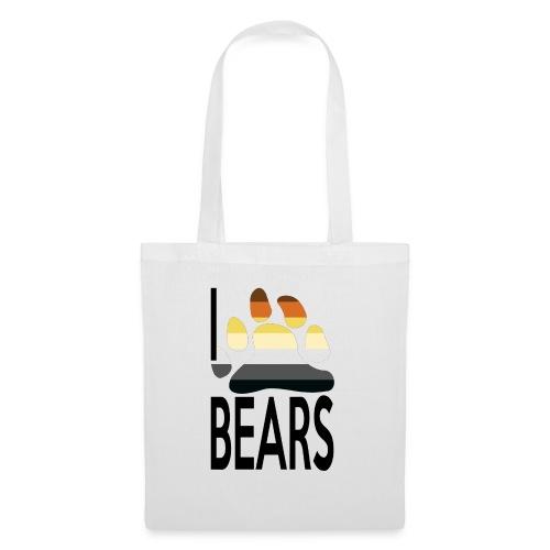 I love bears - Sac en tissu