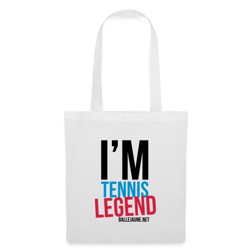 im-tennis-legend - Sac en tissu