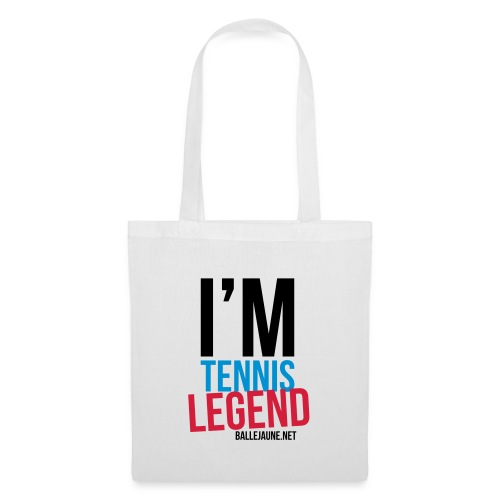 im-tennis-legend - Tote Bag