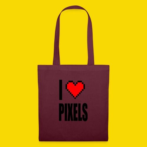 I Love Pixels - Torba materiałowa