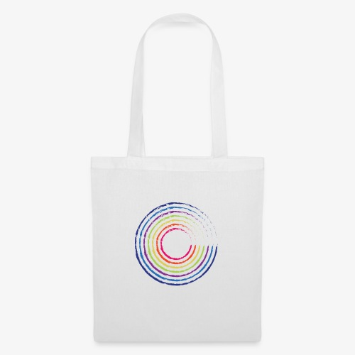 Circle rainbow - Borsa di stoffa
