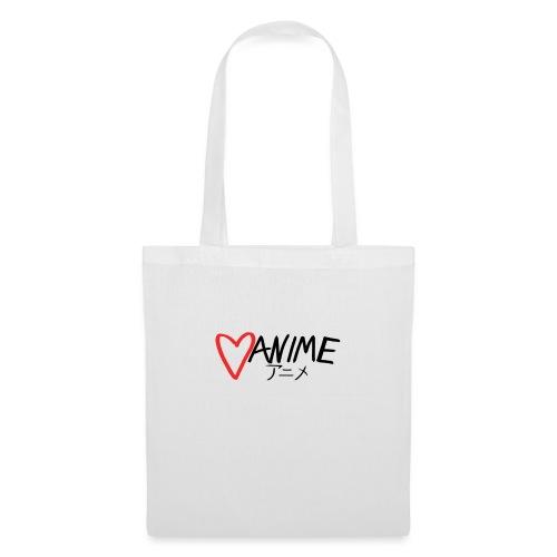Heart Anime - Tote Bag