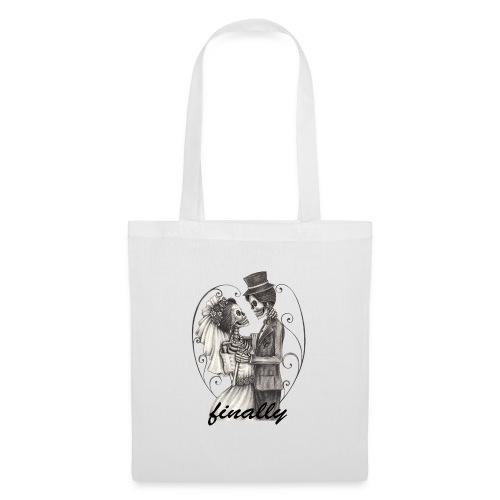 finally mariage T-shirt design - Tote Bag