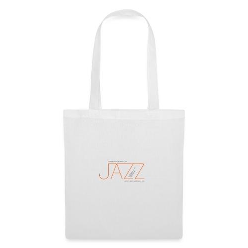 La Montaña Rusa Radio Jazz Modelo, blanco backgr - Bolsa de tela