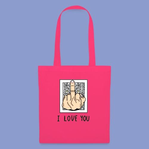 I LOVE YOU - Borsa di stoffa