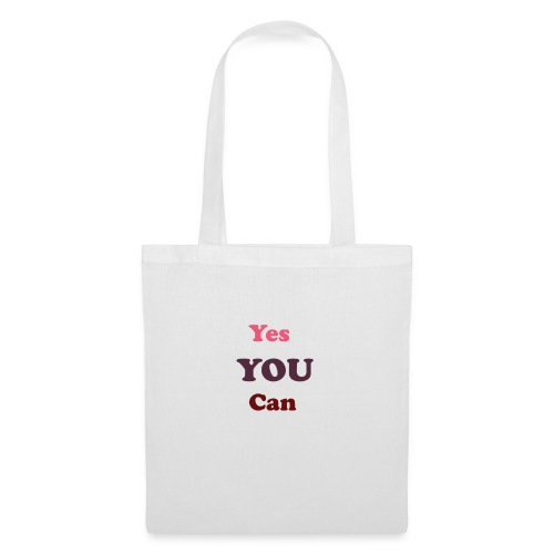you can - Tote Bag