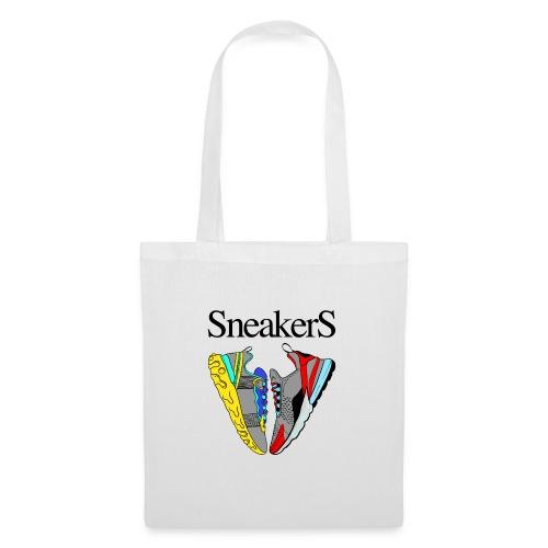 sneakers Love - Sac en tissu