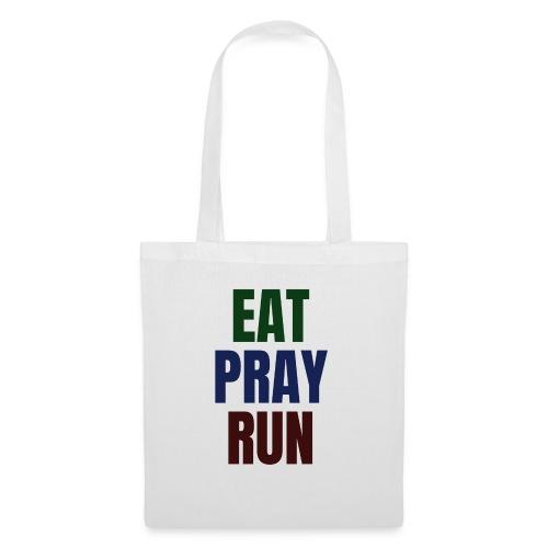 Eat - Pray - Run - Stoffbeutel