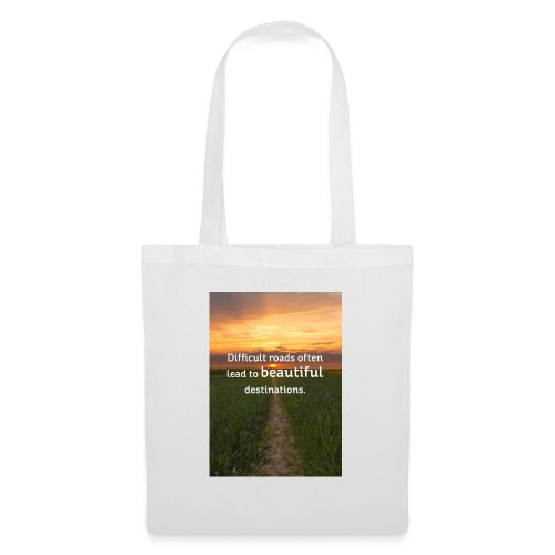 Dificult roads - Tote Bag