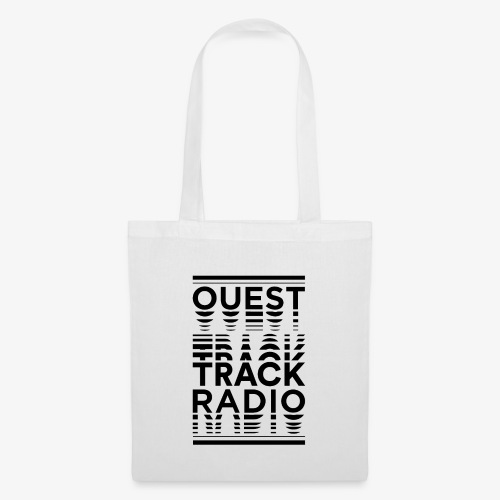 Logo Vertical Grand Noir - Tote Bag