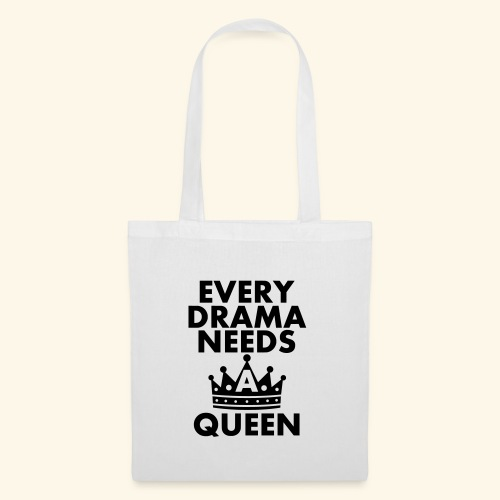 EVERY DRAMA black 1 - Tote Bag