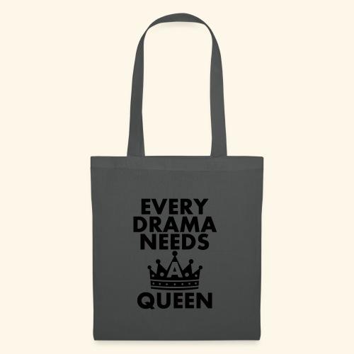 EVERY DRAMA black 1 - Tote Bag