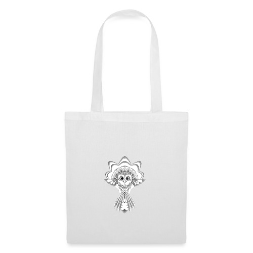 owl dotwork - Tote Bag