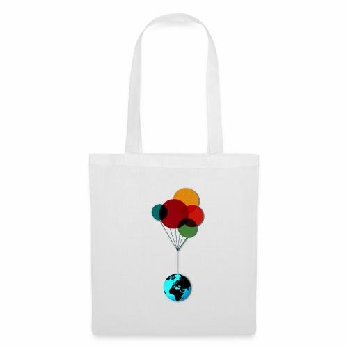 EARTH & BALLOONS - Tote Bag