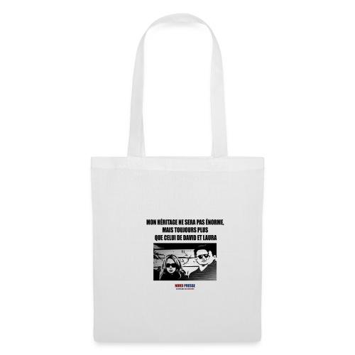 T shirt David et Laura - Tote Bag