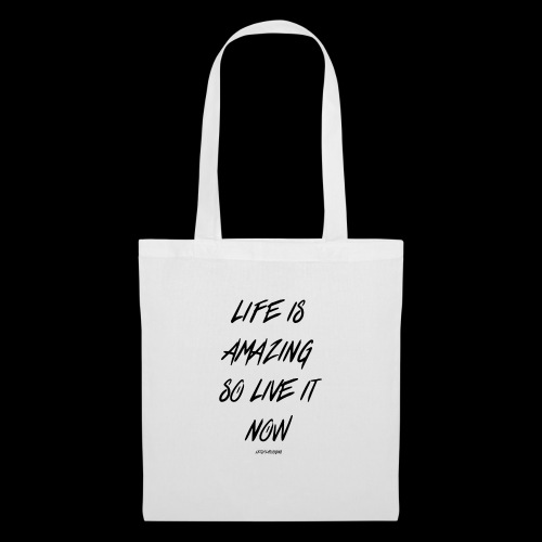 Life is amazing Samsung Case - Tote Bag