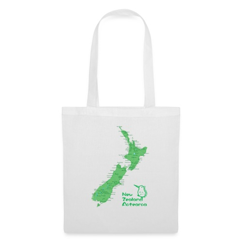 New Zealand's Map - Tote Bag