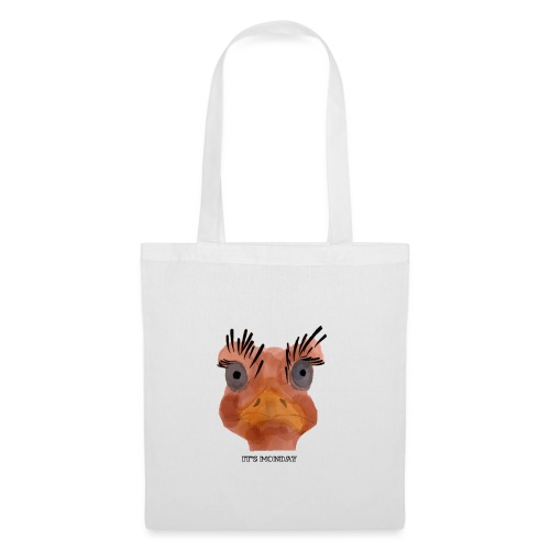 Srauss, again Monday, English writing - Tote Bag
