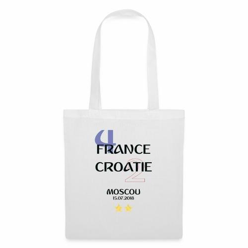 Finale coupe du monde 2018 - Francais - Sac en tissu
