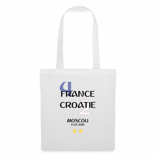Finale coupe du monde 2018 - Francais - Tote Bag
