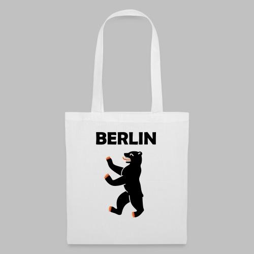 BERLIN - Berliner Bär (Vektor) - Stoffbeutel