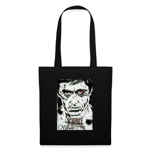 Portrait unique scarface - Tote Bag
