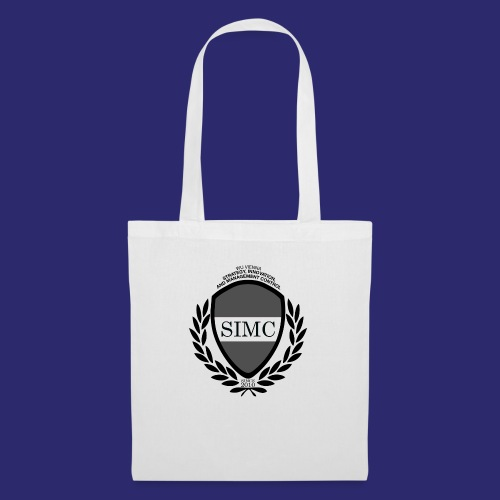 SIMC Logo original bw - Tote Bag