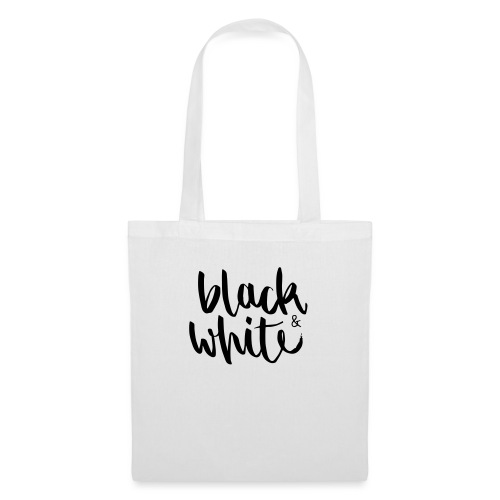black&white1 - Stoffbeutel