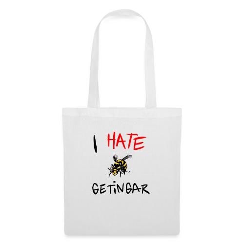 I hate getingar - Tygväska