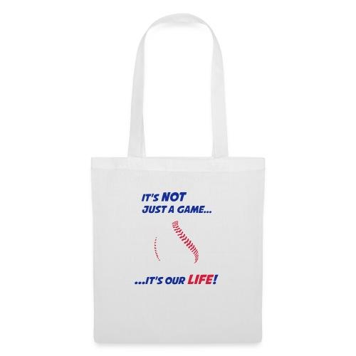 Baseball is our life - Tote Bag