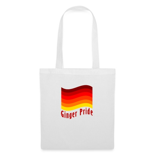 Ginger Pride flag Dark png - Tote Bag