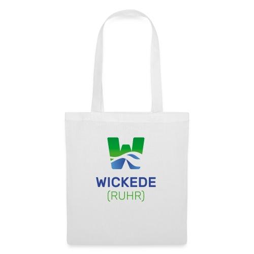 Wickede Logo farbig - Stoffbeutel