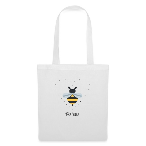 Bee Nice - Save the Bees! - Stoffbeutel