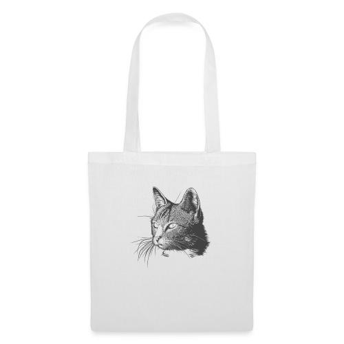 MIrada felina - Bolsa de tela