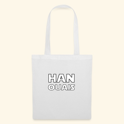 han ouais star space wars - Tote Bag