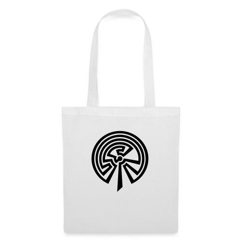 Indianisches Labyrinth - Stoffbeutel