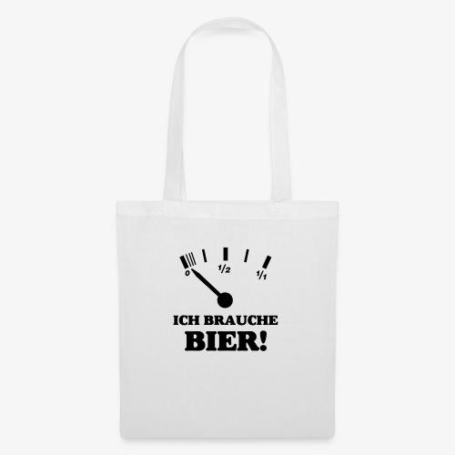 Bier Tankanzeige - Stoffbeutel